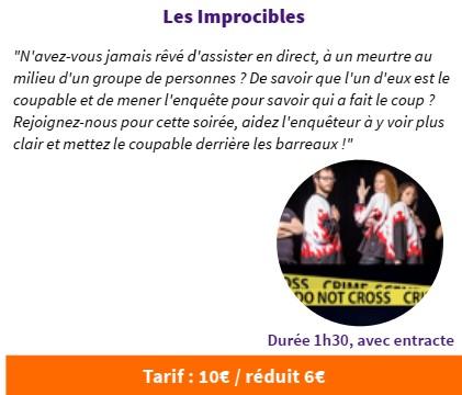 FESTI'MARANTE  Impros-Théâtre par Les Improcibles @ Salle Gérard Philippe